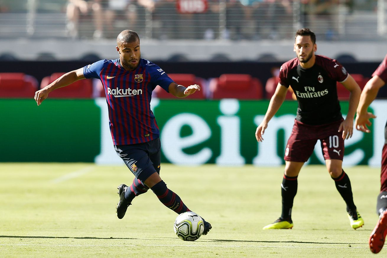 Braida expecting Rafinha to stay at Barcelona