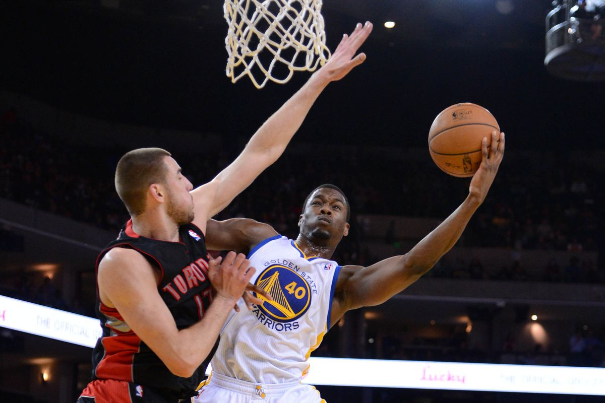 PMC says: This wasn't the Air Barnes layup, but here's the only pic of Harrison from USA Today tonight.