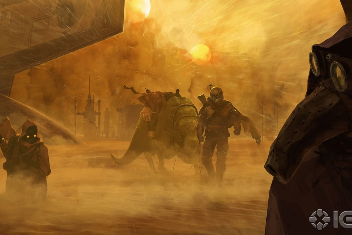 Star Wars 1313 Concept Art Demo Detail Story Starring Boba Fett Polygon