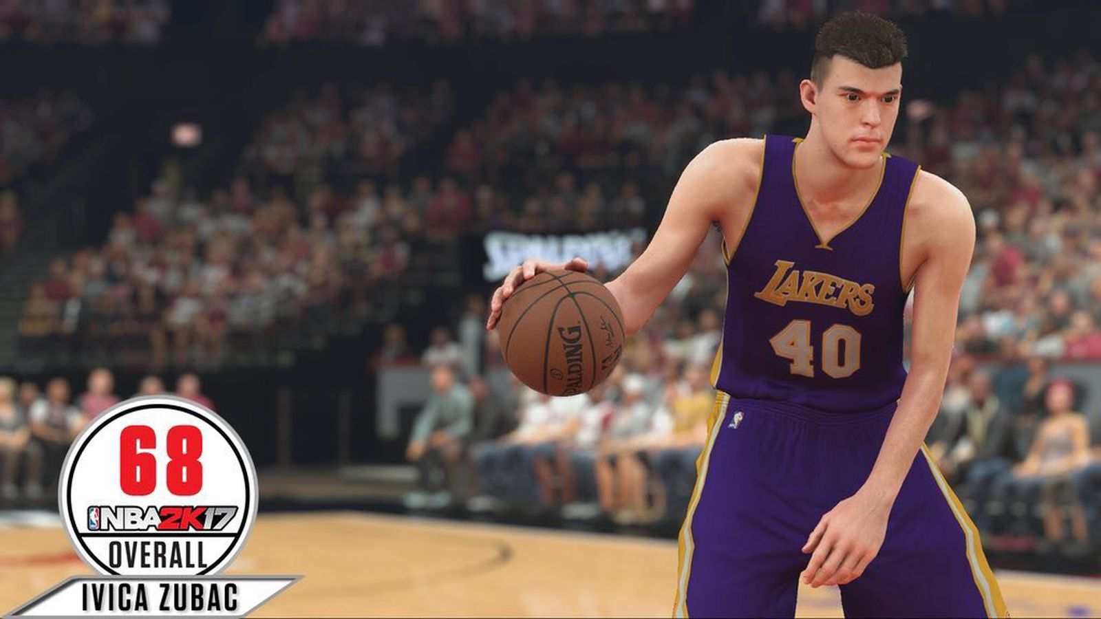 Ivica Zubac has finally been given his 2K rating