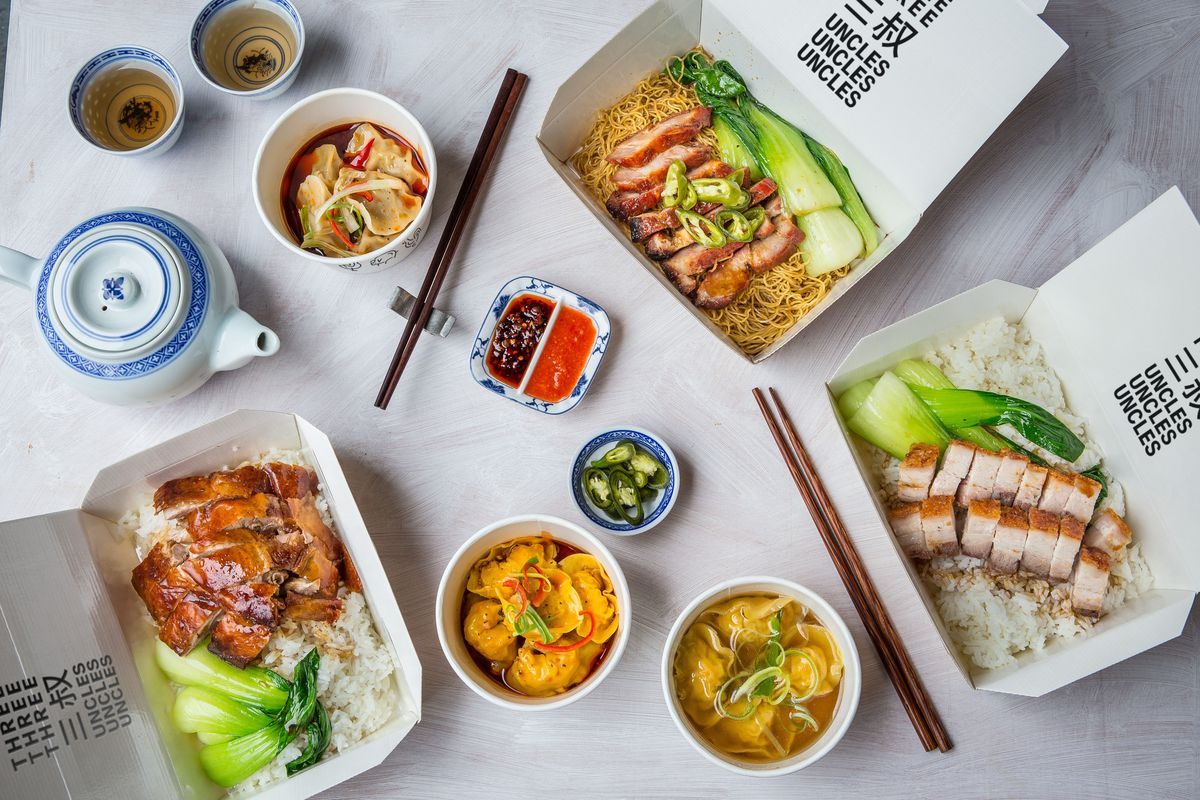 Cantonese roast meats restaurant Three Uncles will open near Liverpool Street after problems at Nag's Head Market