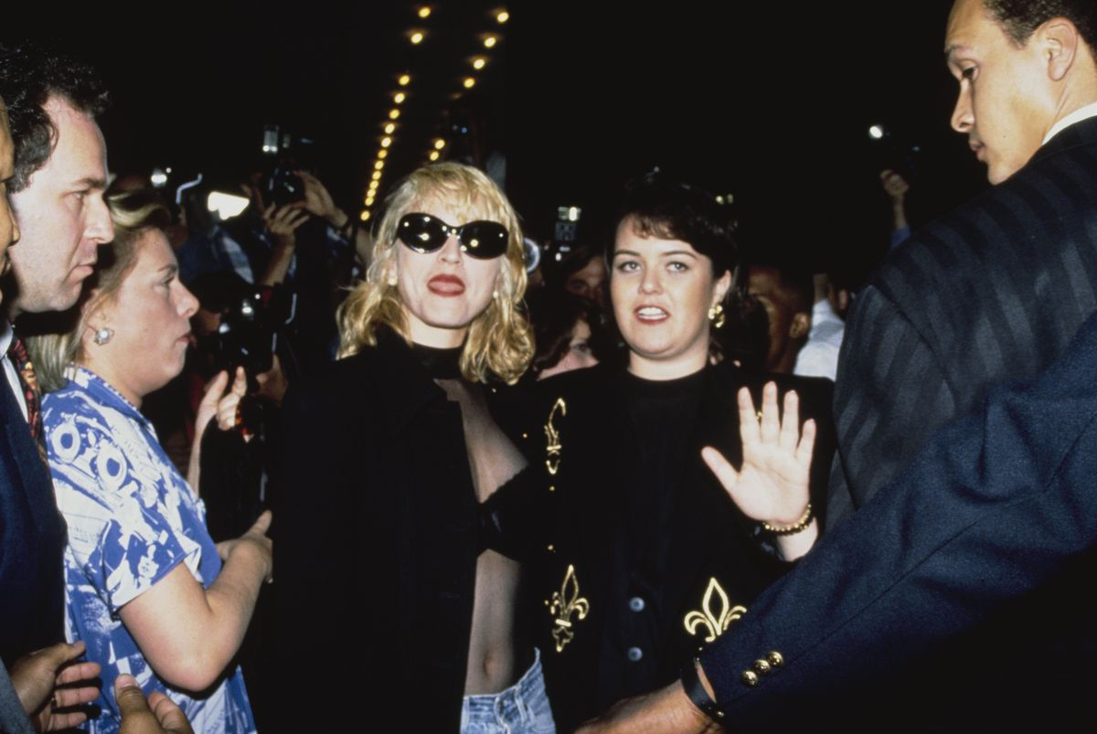 Madonna And Rosie O'Donnell