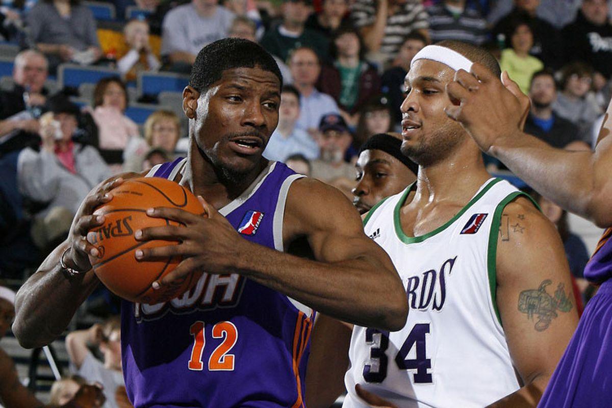 He just looks like an NBA player, no?
