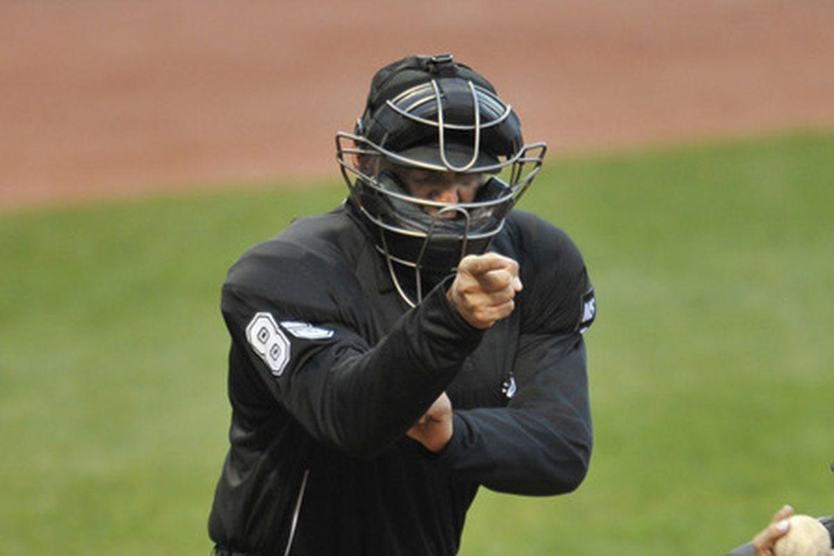 Umpires are Ringin' 'em up now more than ever.