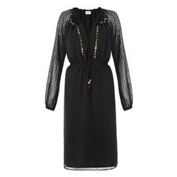 Embroidered Dress in Black Swiss Dot, $54.99 (Available on Net-A-Porter)