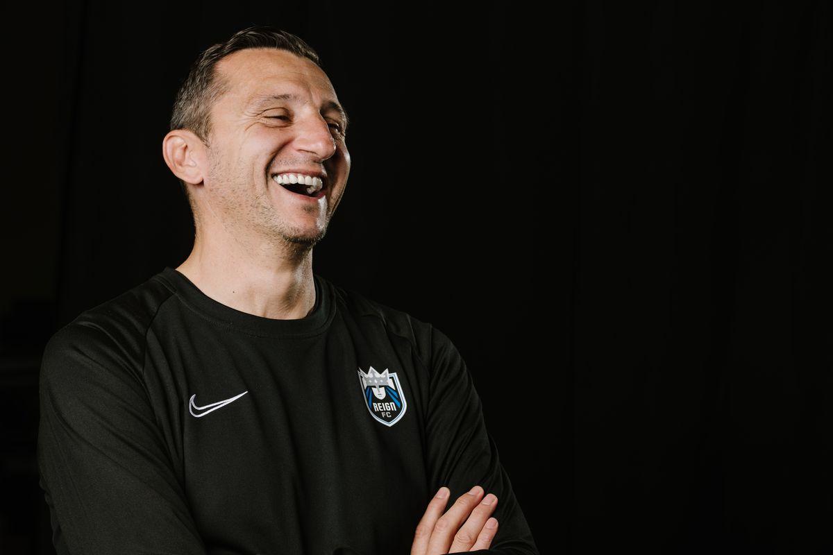 Reign FC Head Coach Vlatko Andonovski Portraits