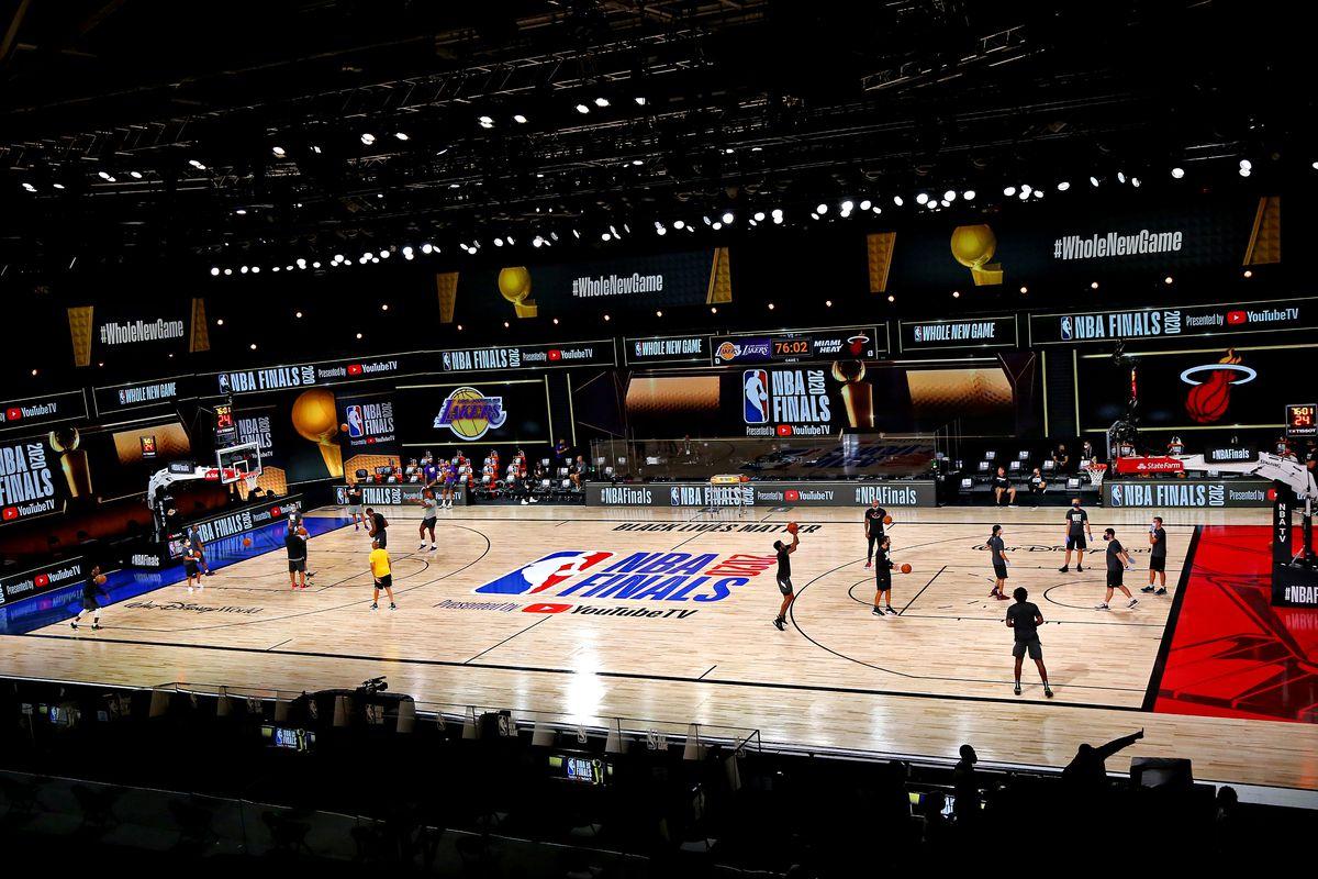 Gamethread Miami Heat Los Angeles Lakers Nba Finals Game 1 Hot Hot Hoops
