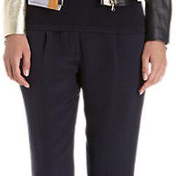 "Colorblock leather biker jacket, $550 (via <a href=""http://www.barneys.com/3.1-phillip-lim-colorblock-leather-biker-jacket-503085835.html""> Barneys </a>)"