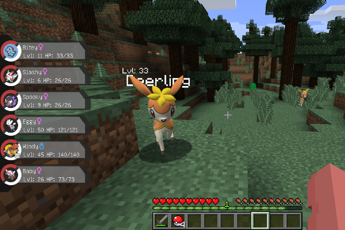 A Minecraft mod is the best open-world Pokémon experience ...