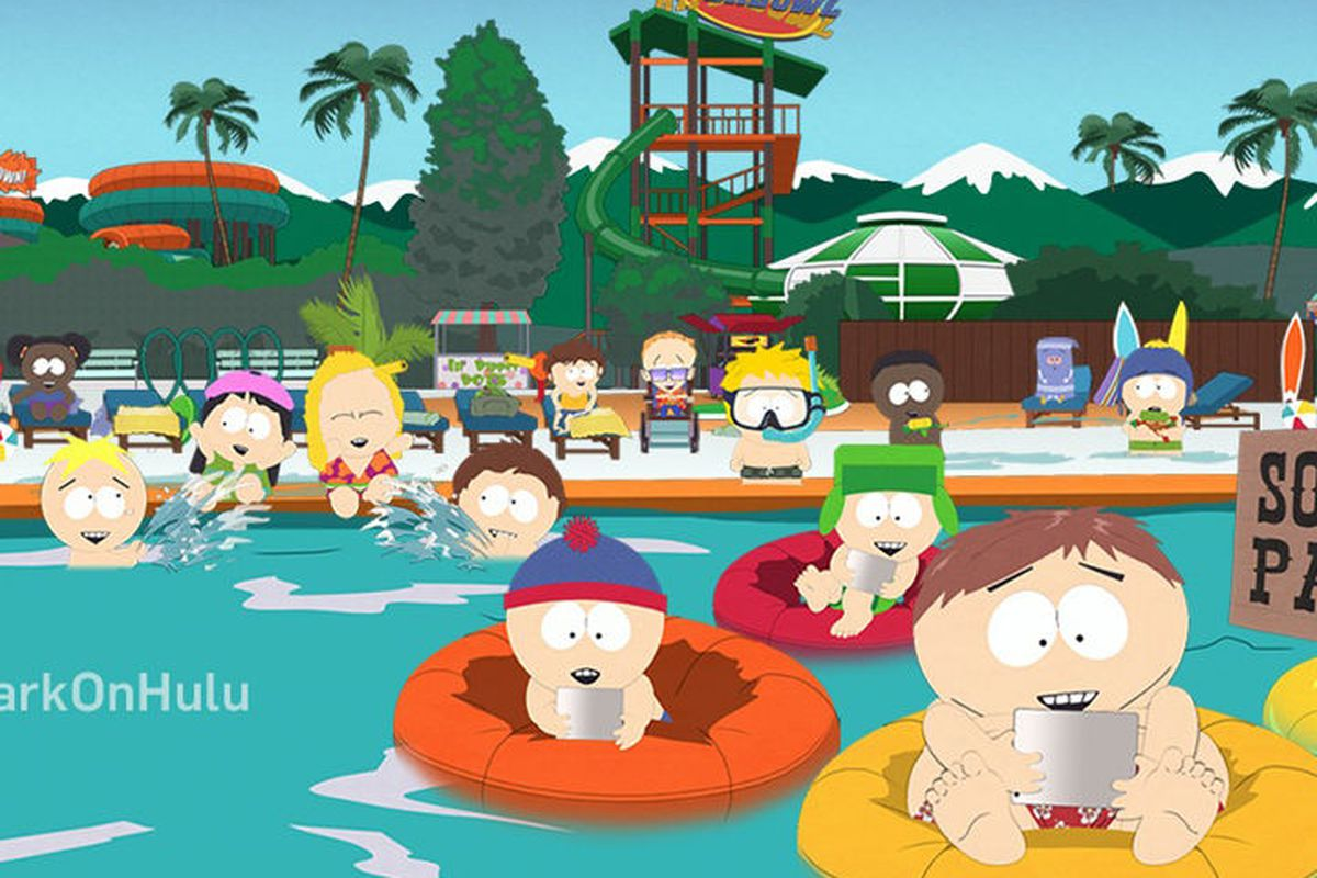 kenny cartman and the rest of south park go behind hulu s paywall