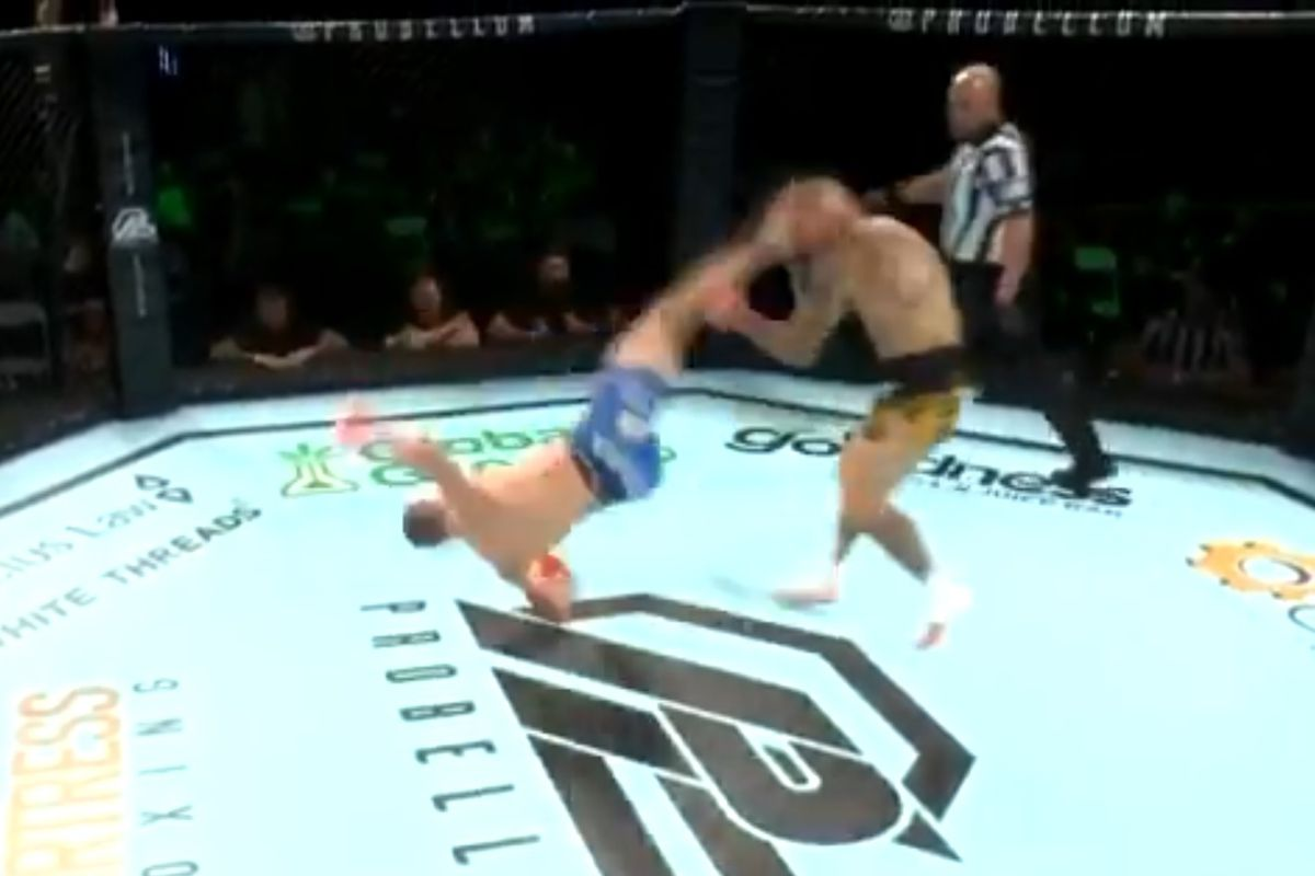 Video: Davy Gallon KOs UFC vet Ross Pearson with spectacular 'rolling thunder' kick