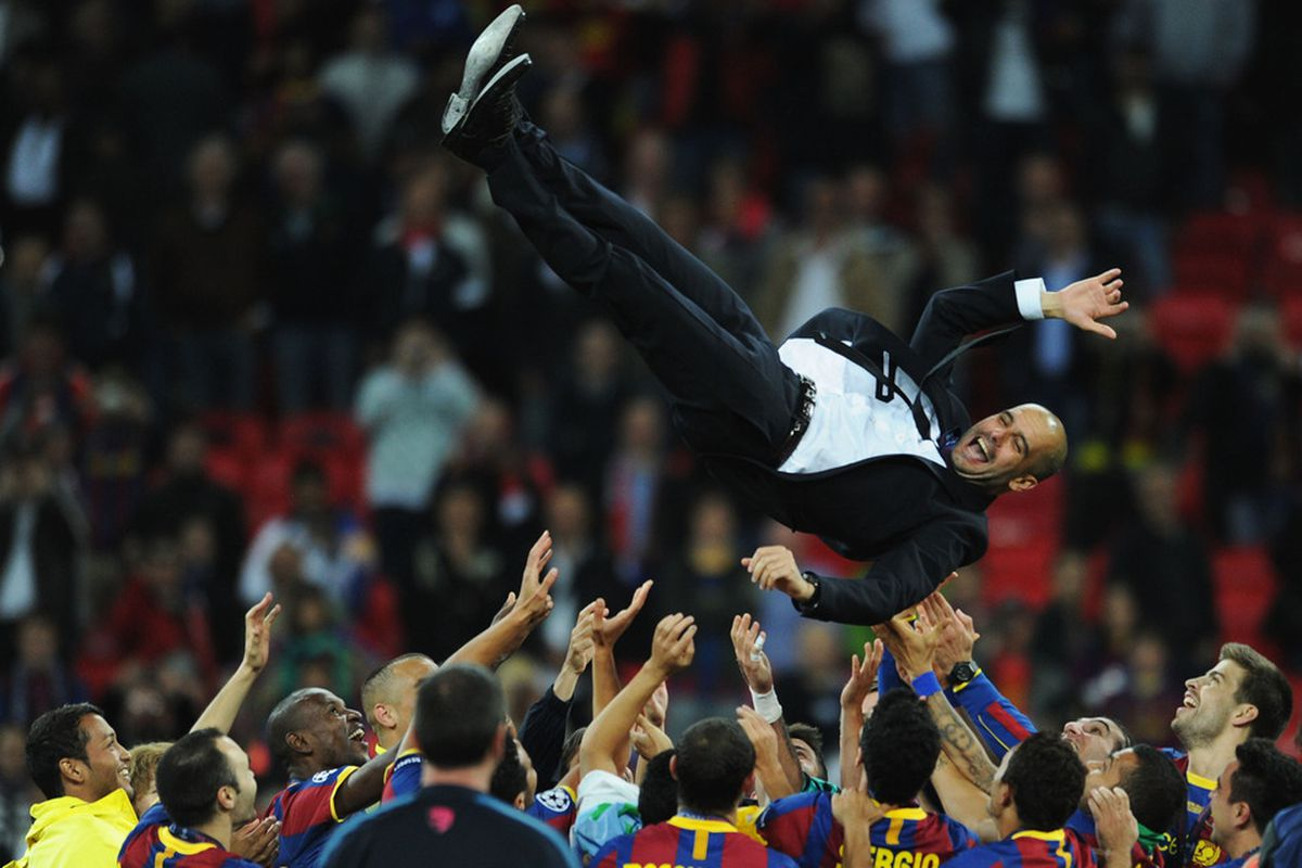 Pep will always be remembered for the work he did in Barcelona.