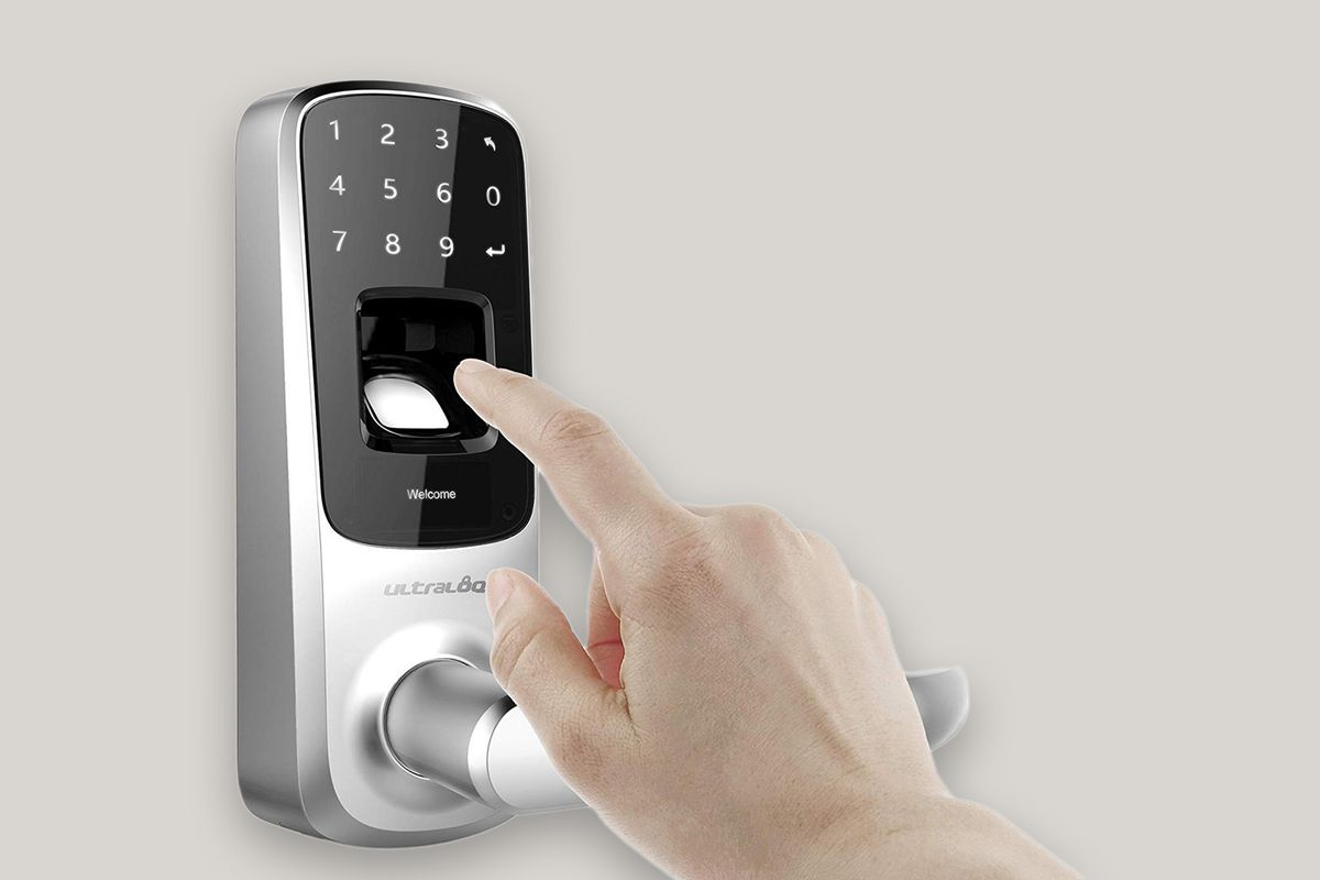 Ultraloq Bluetooth Enabled Fingerprint and Touchscreen Smart Lock