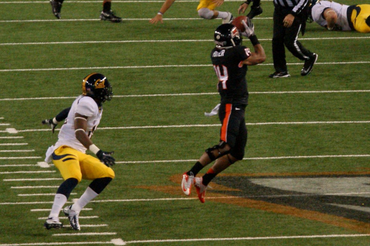 Oregon St.'s Jordan Poyer has been named to 2 All-American First Teams.