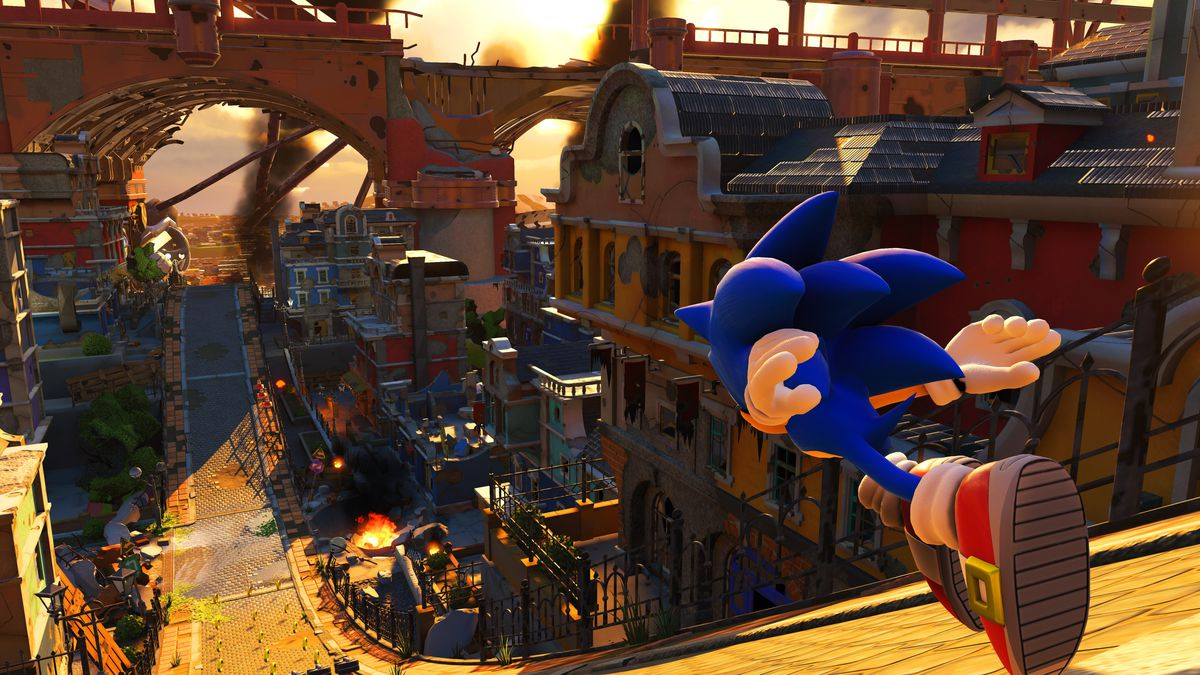 Image result for sonic forces boost to win