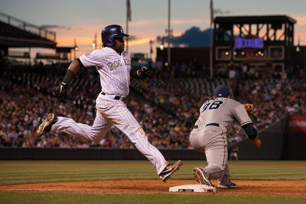 Will Eric Young Jr, DJ LeMahieu or Jonathan Herrera land safely on the Rockies roster?
