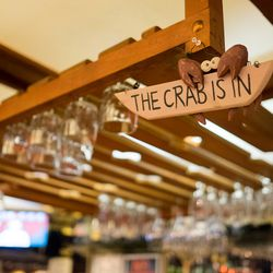 """""""THE CRAB IS IN"""" Thursday, Saturday, and Sunday"""