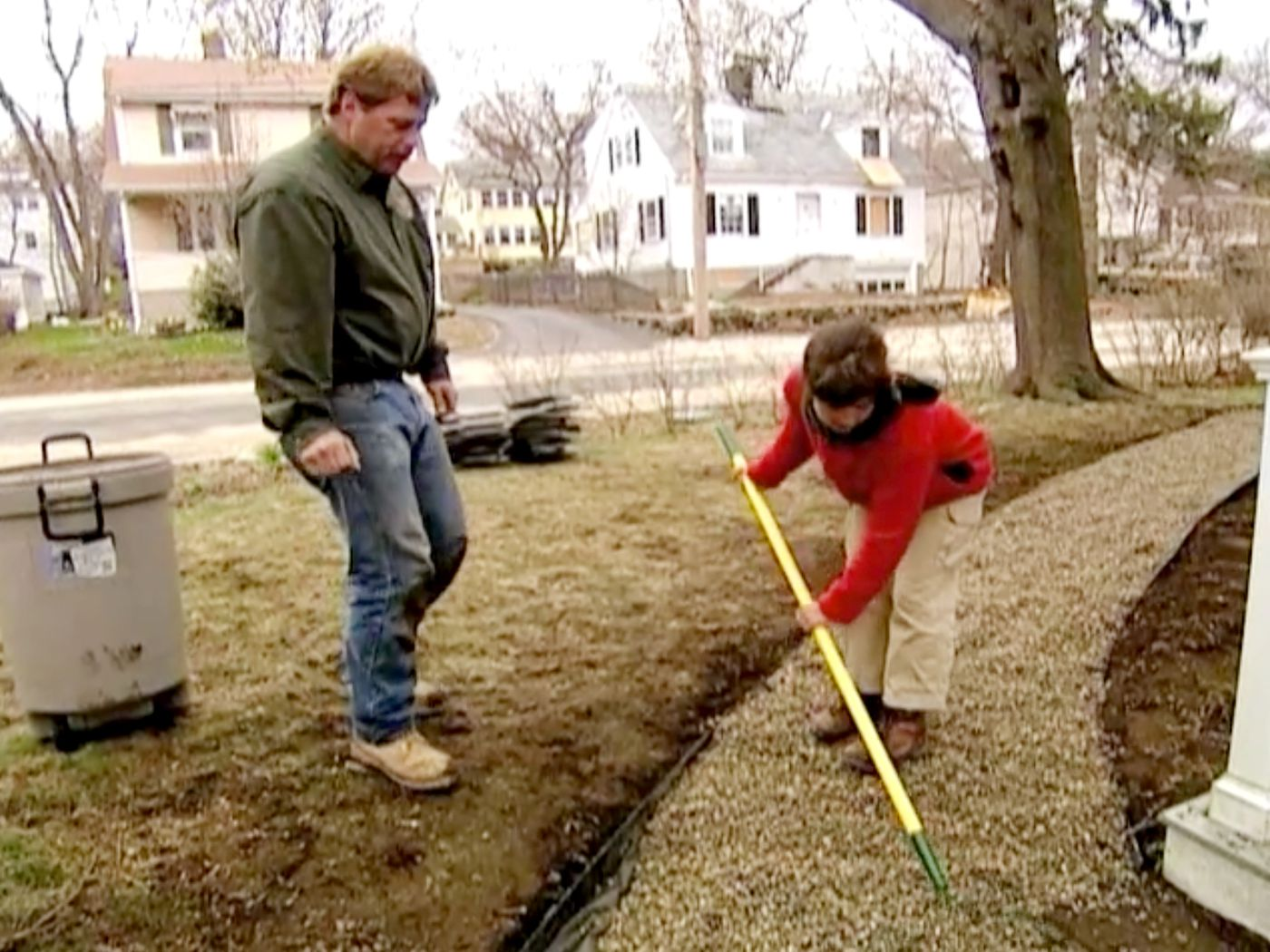 How To Lay A Gravel Path This Old House