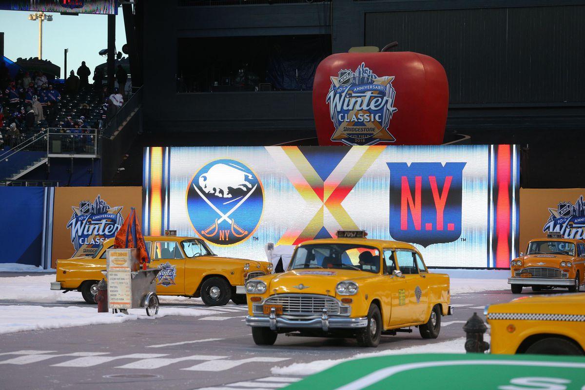 NHL: Winter Classic-Buffalo Sabres vs New York Rangers