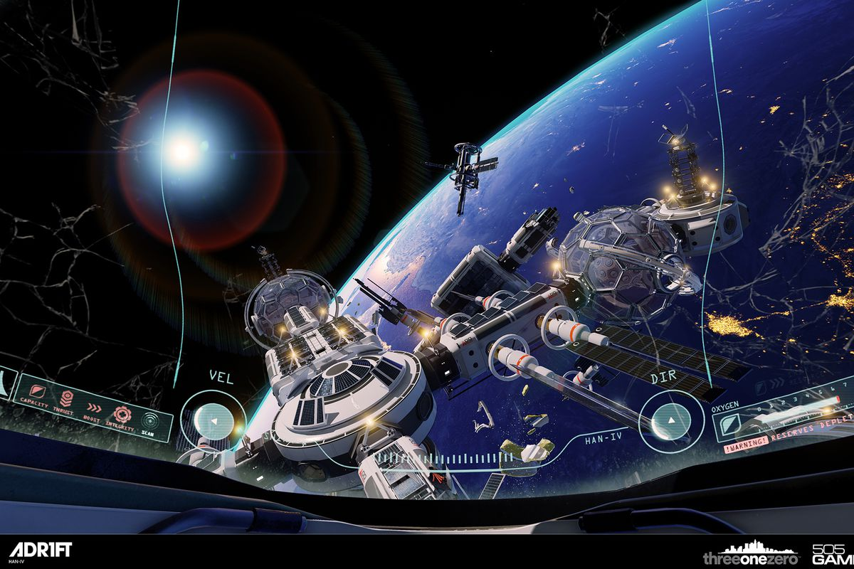 Adrift is a VR survival game in space where your enemy is time - The