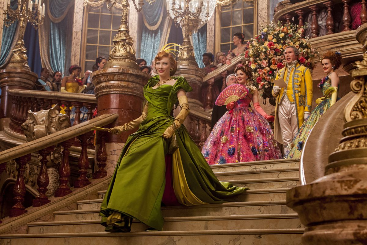 Cate Blanchett Plays The Wicked Stepmother In New Live Action Cinderella With Delicious Flair Disney