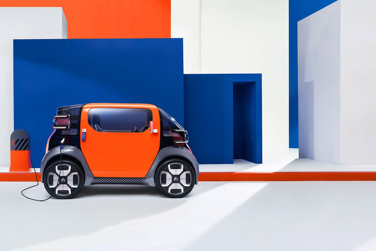 Ami One A New Urban Mobility Object Concept From Citroën Caters To Dwellers With Or Without License