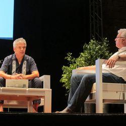 Winemakers Hugo D'Acosta and Pau Pijoan.