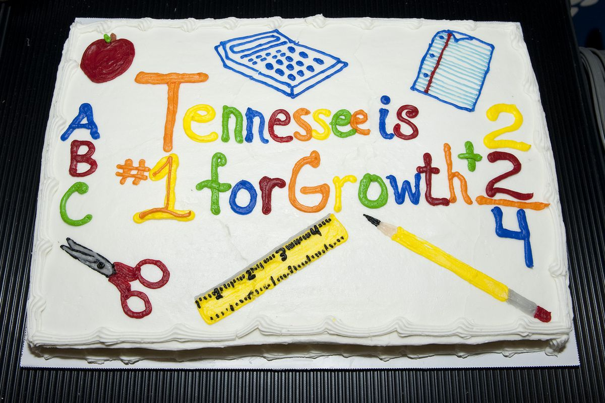 Tennessee celebrated historic gains on the Nation's Report Card in 2013.