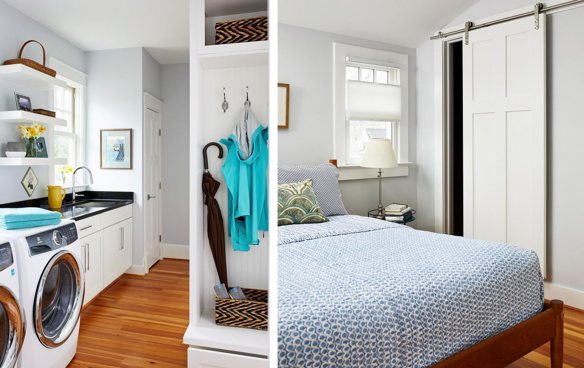 Spring 2021, House Tour: Liverman, laundry room, master bedroom
