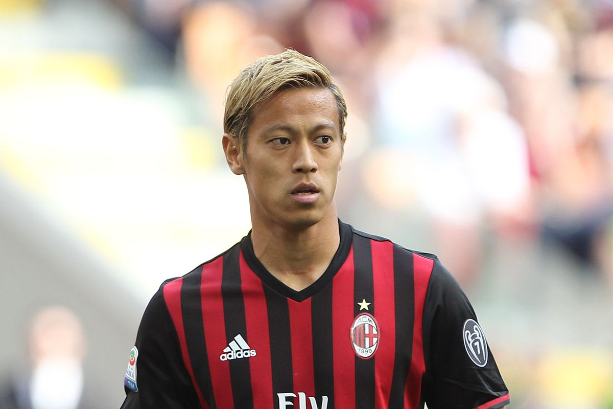 ficial Keisuke Honda signs with Pachuca Angels on Parade