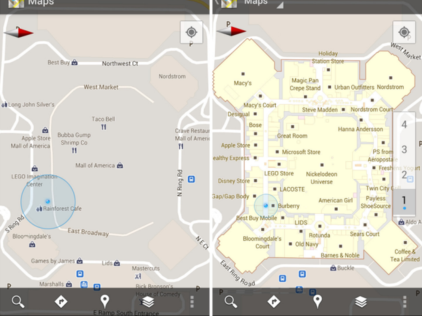 Google Maps 6.0 for Android adds indoor maps, new Places homescreen on