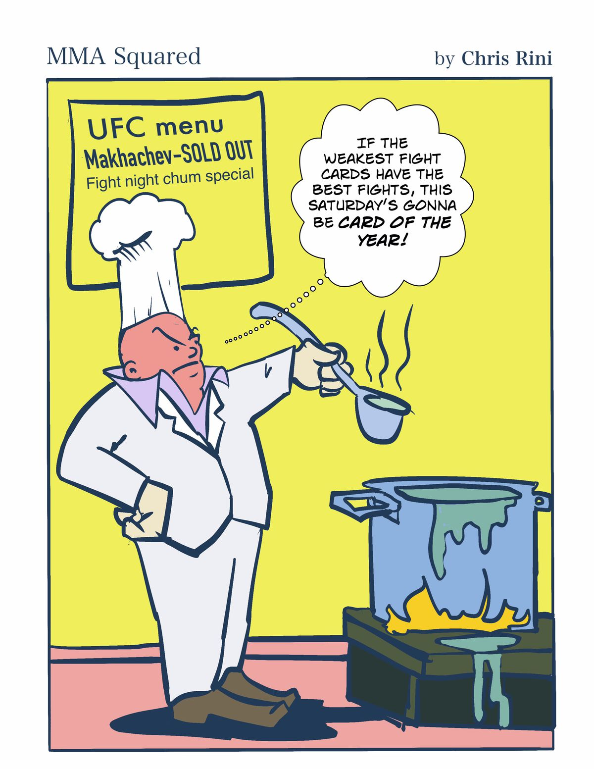 Chris Rini, MMA Squared, UFC, Main Event, Dana White, UFC Booking, UFC Possible Next Fights, UFC Vegas, UFC APEX, UFC Vegas 14, Rafael dos Anjos, Michael Chandler, Islam Makhachev,