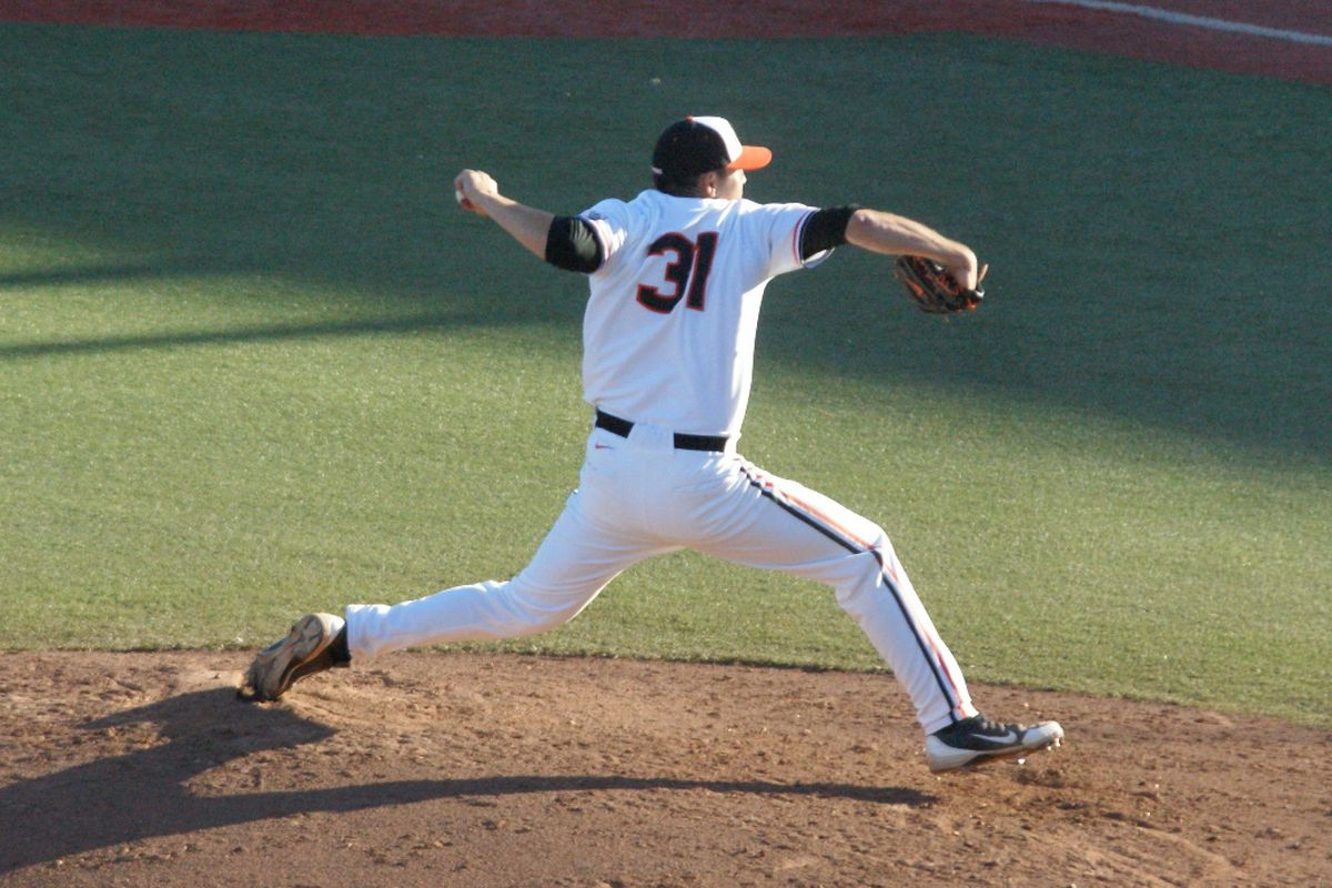 Matt Boyd will take the mound in Oregon St.'s first game in the NCAA Corvallis Regional. After all, its Friday night.