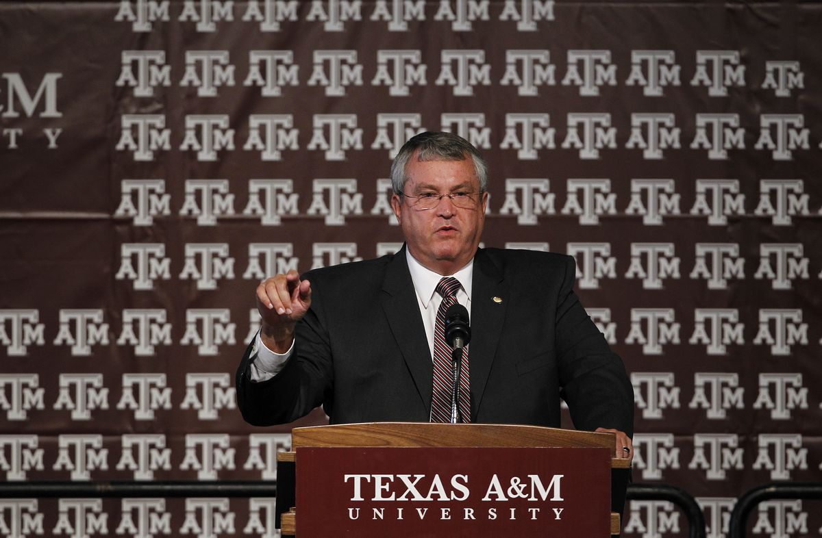 Texas A&M To Join The SEC - Press Conference