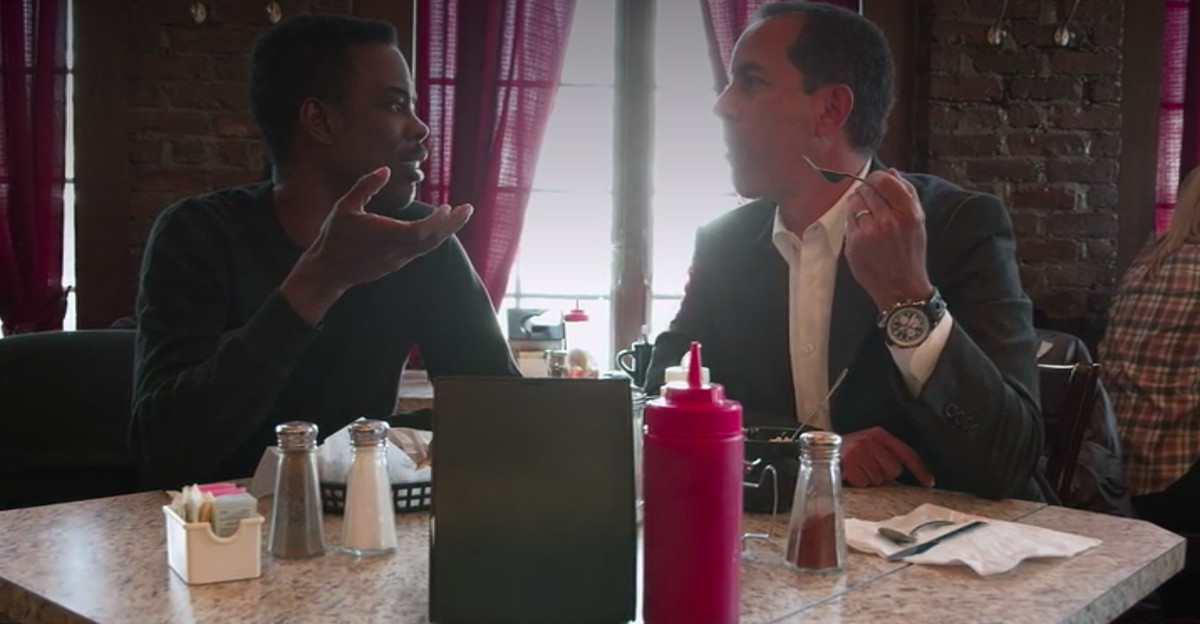 Chris Rock and Jerry Seinfeld.