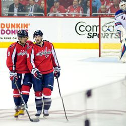 Ovechkin Speaks to Brouwer