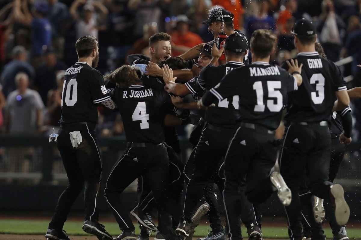 NCAA Baseball: College World Series-Auburn vs Mississippi State