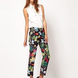"""<a href=""""http://us.asos.com/Camilla-and-Marc/Camilla-Marc-Skinny-Trousers-In-Botanical-Print/Prod/pgeproduct.aspx?iid=2161660&SearchQuery=botanical&sh=0&pge=0&pgesize=20&sort=-1&clr=Multi/"""">Camilla and Marc botanical print skinny trousers</a>, $390.85, AS"""