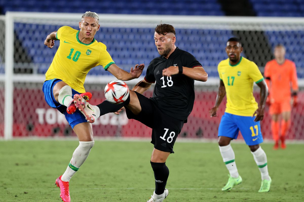 Brazil v Germany: Men's Football - Olympics: Day -1