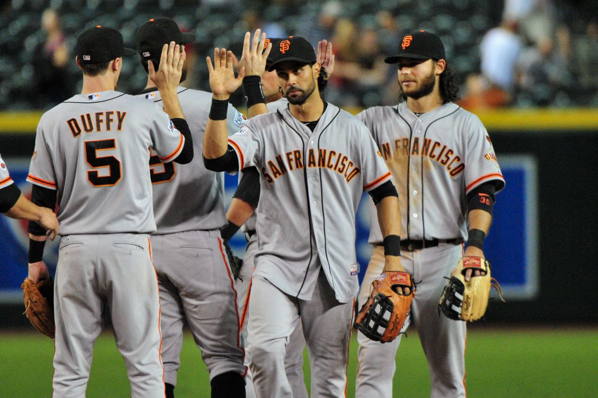 Celebrate with Angel Pagan's intensity face