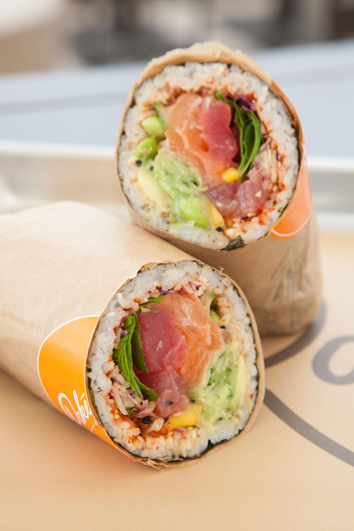 Pokéworks sushi burrito