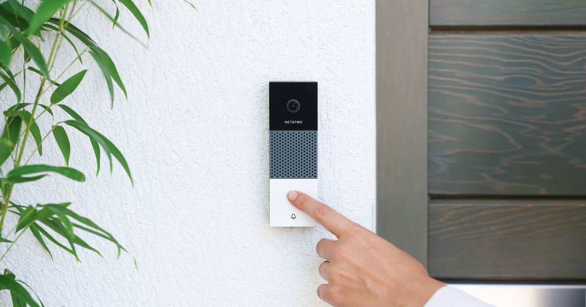 Netatmo's Smart Doorbell is the First That's Compatible with Apple HomeKit