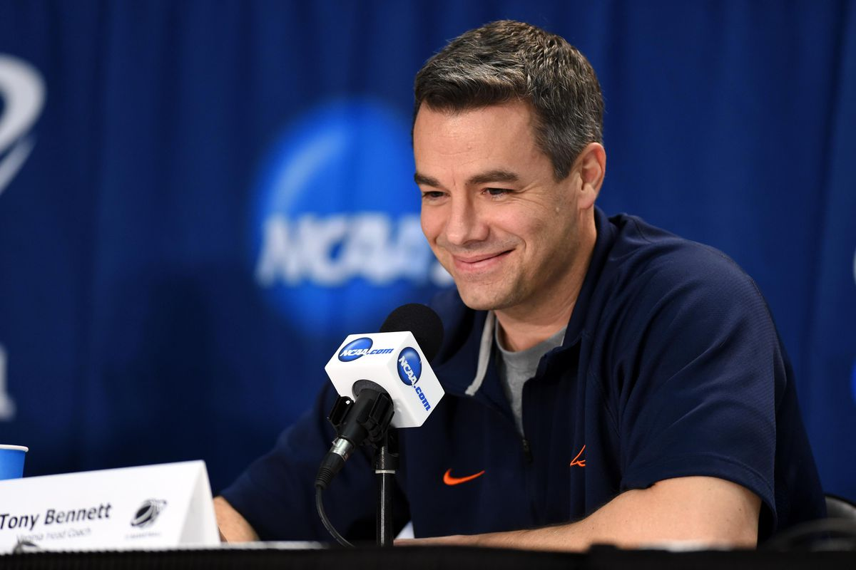 fec022c447af Virginia basketball  Tony Bennett preseason press conference ...