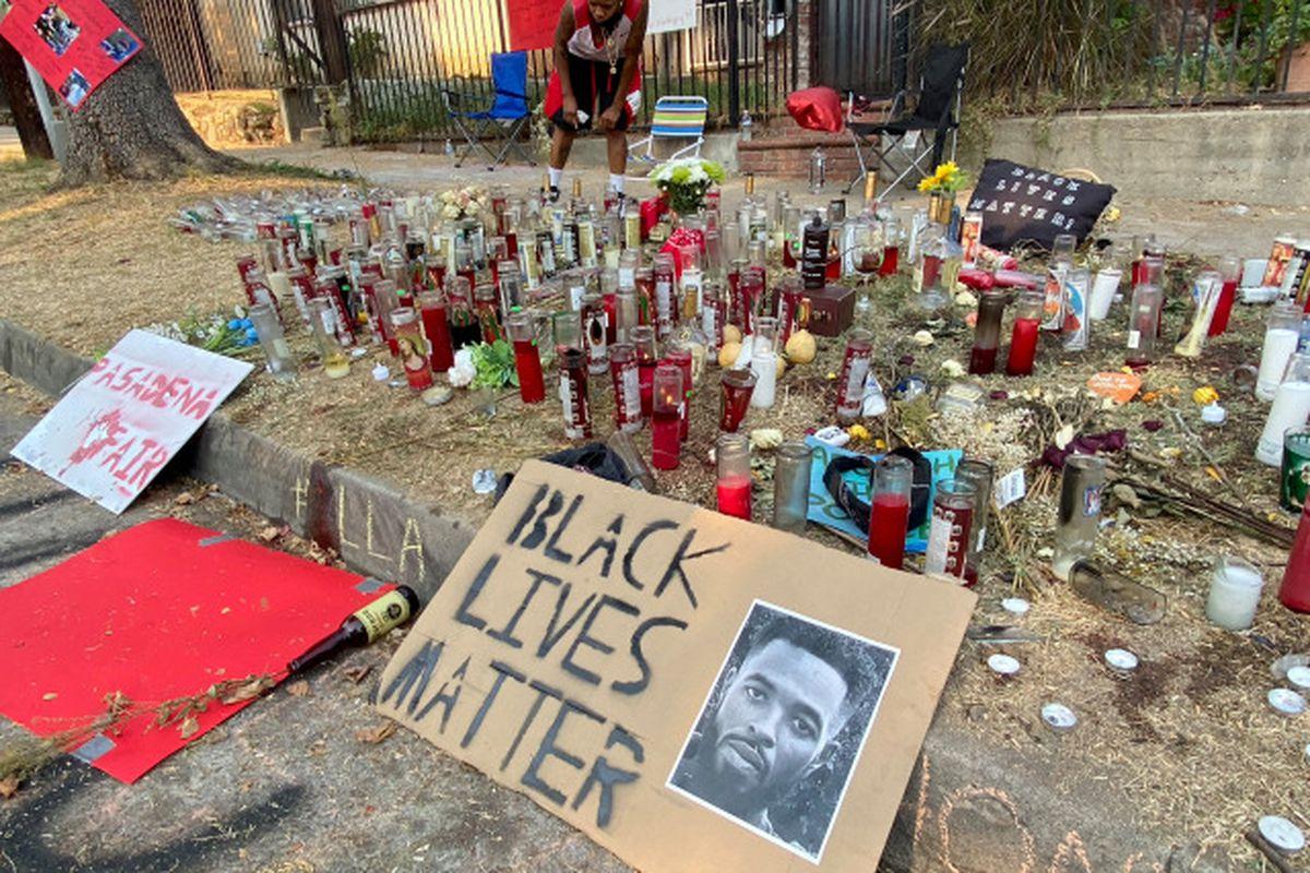 Anthony McClain memorial