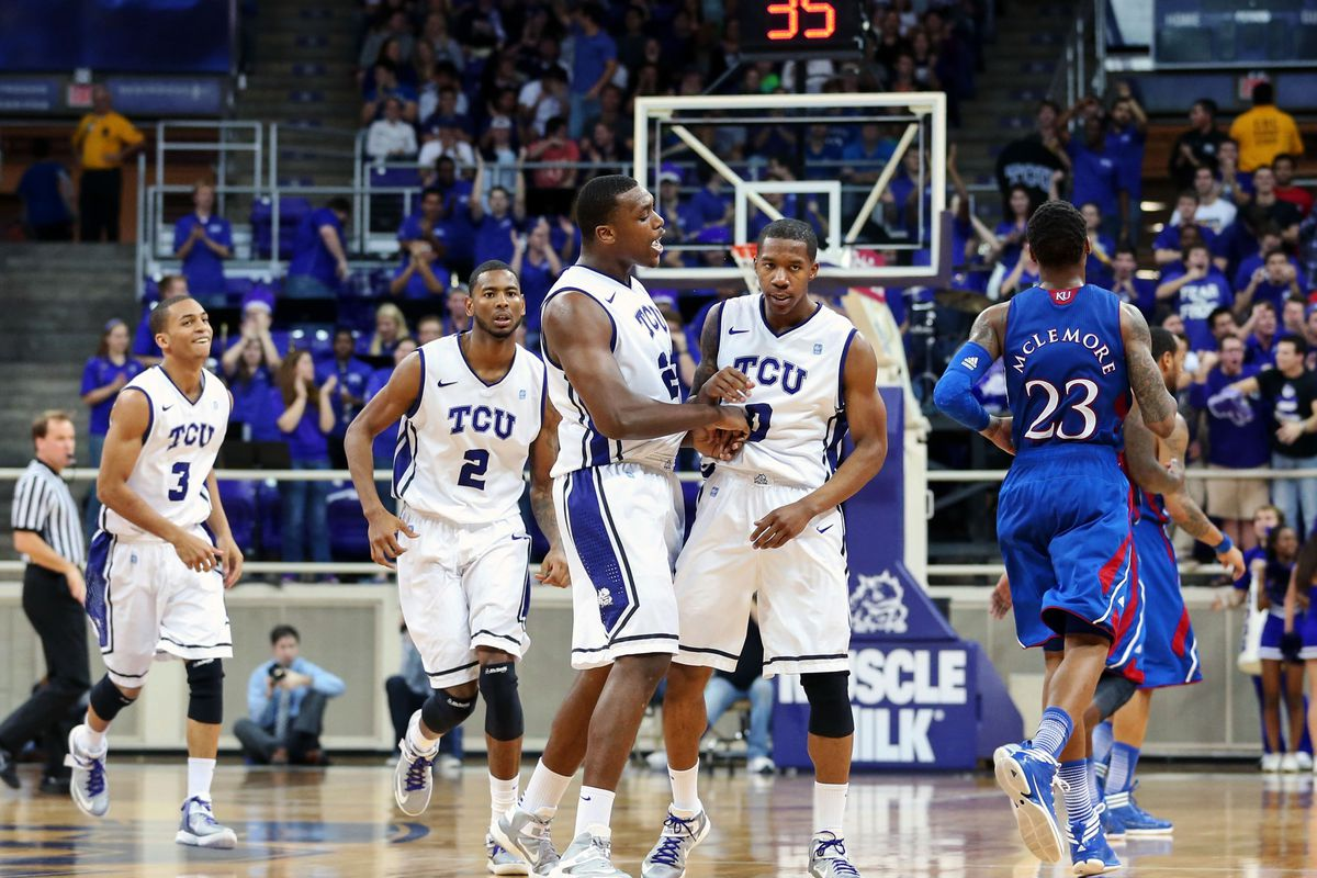 I will stop using pictures of us beating Kansas when I stop enjoying them.  Which will be never.
