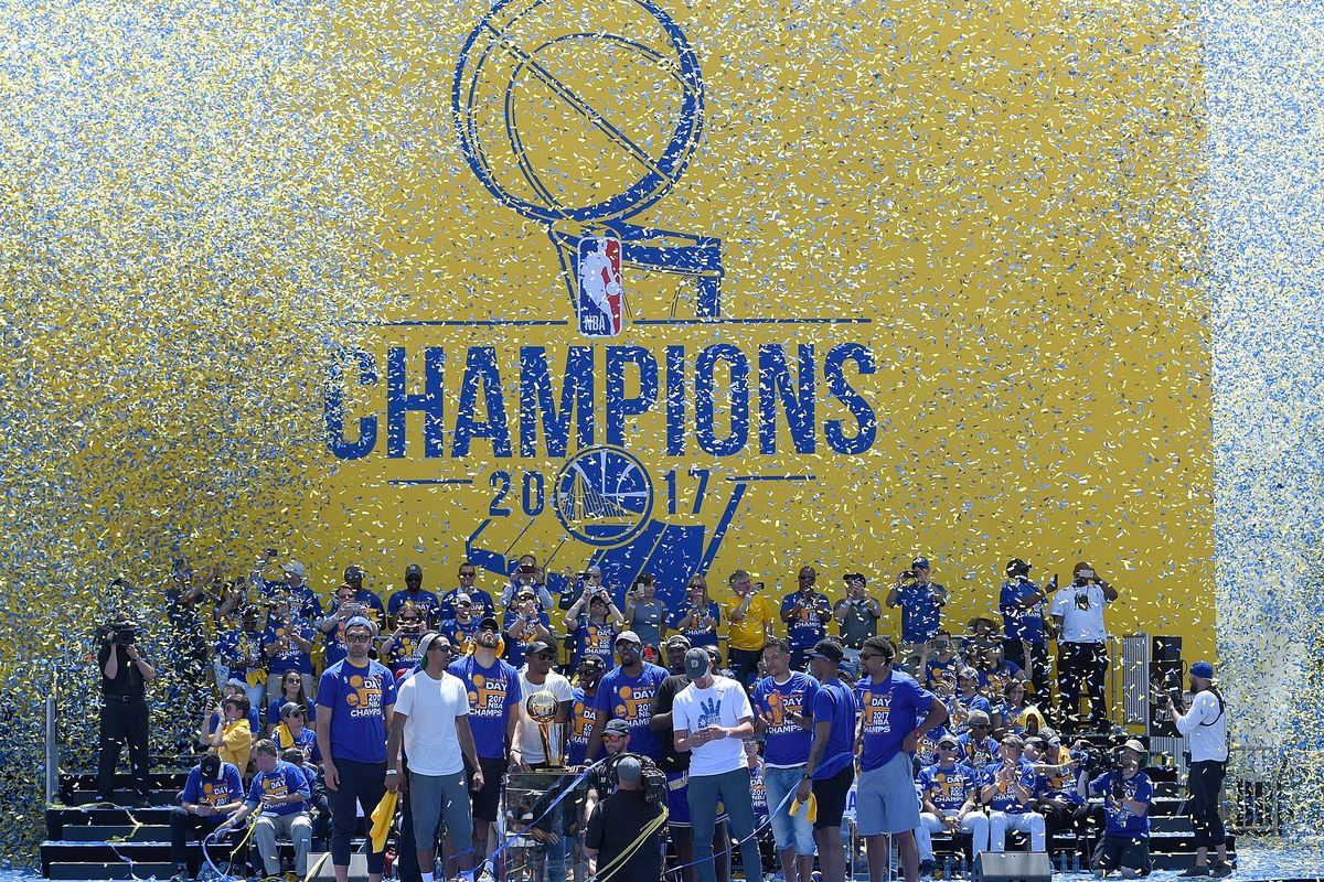 Golden  State Warriors 2017 NBA Championship victory parade