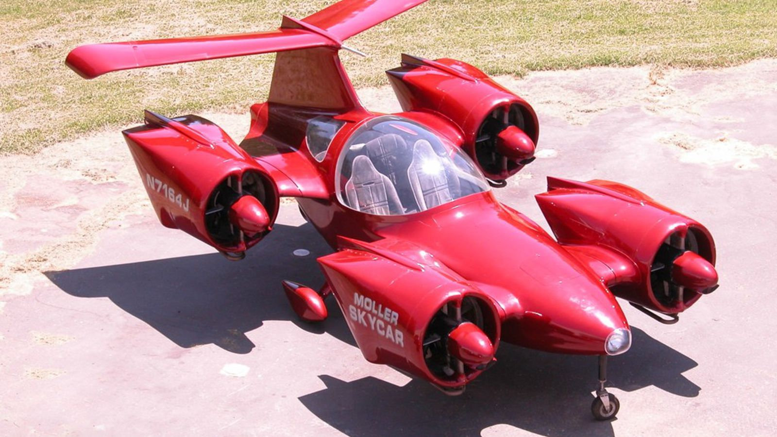 You can now buy the Moller Skycar, one of the world's most iconic (and dubious) 'flying cars'