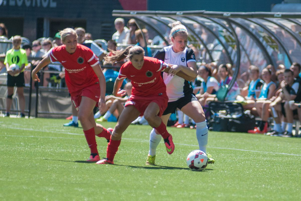Tobin Heath was a spark plug for the Thorns last Wednesday. Portland will need her fired up again to get a result on the road.