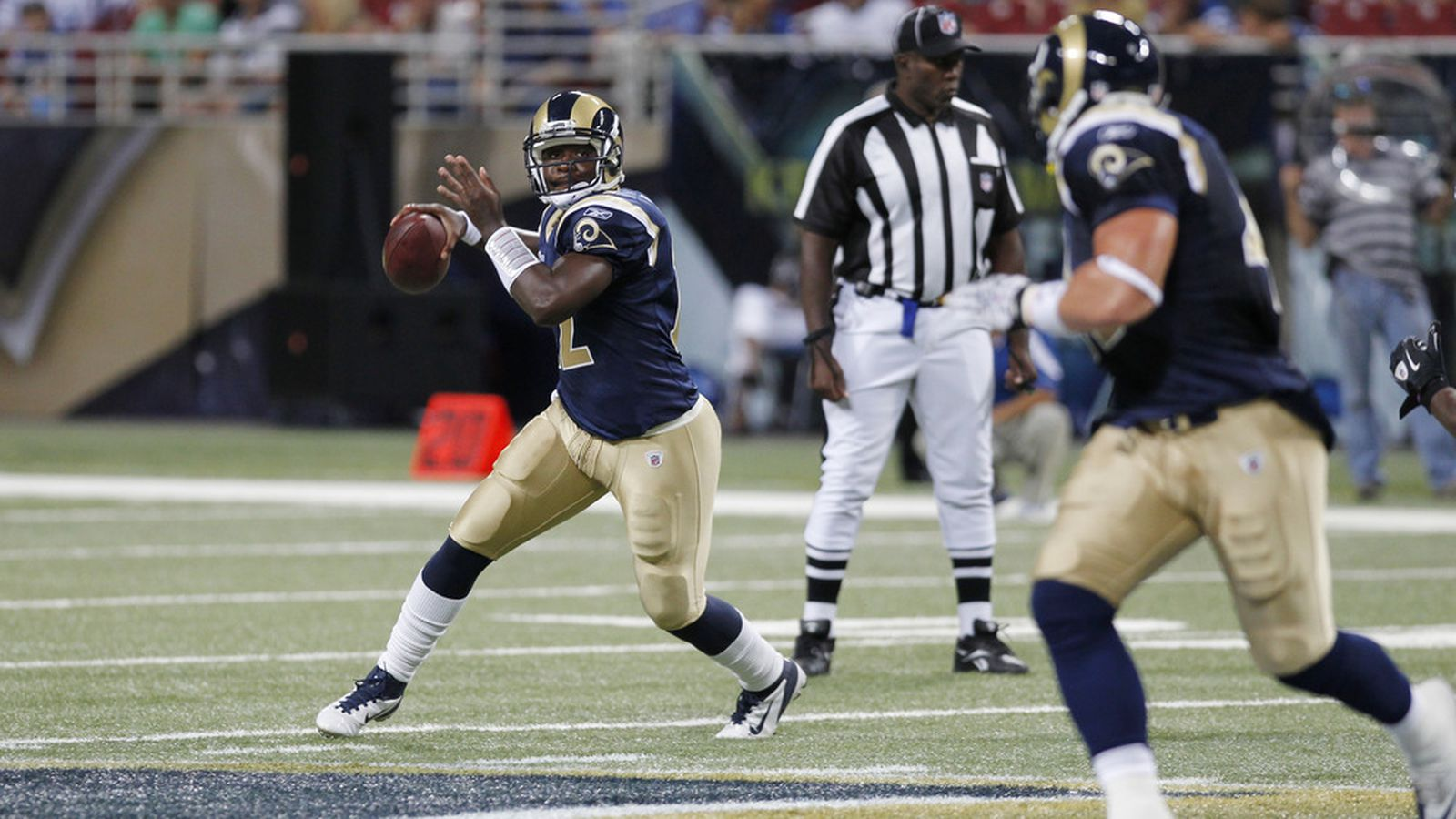 St Louis Rams Roster Who Will Be The Number Two Qb