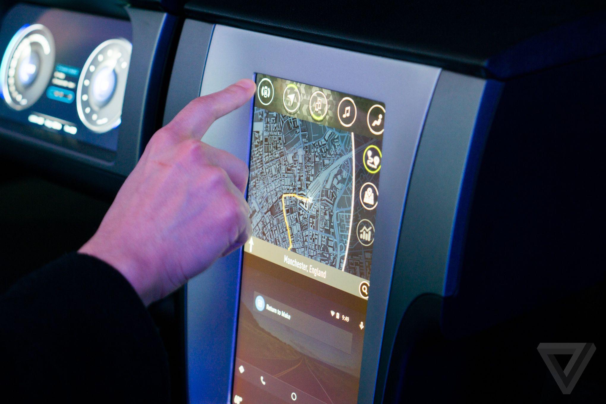 nVidia car platform